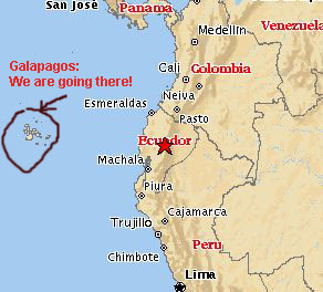 Travel Logs from the Galapagos Islands